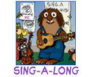COLORING PAGES · LIBRARY · SING A LONG